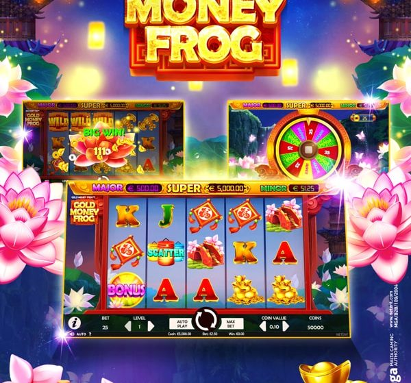 NetEnt release a ribbiting new game with Gold Lucky Frog