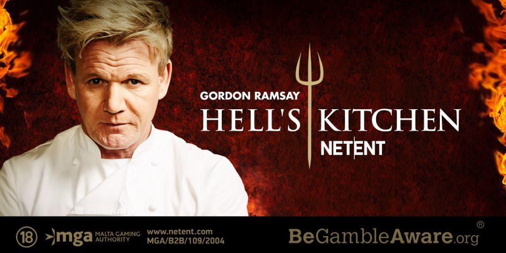Gordon Ramsay Hells Kitchen Slot by NetEnt