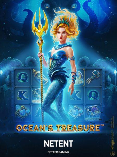 NetEnt awakens the Sea Goddess in Ocean's Treasure Slot
