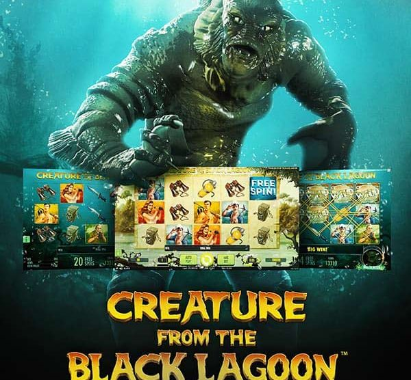 Creature from the Black Lagoon emerges a winner in this NetEnt slot