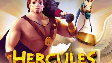 Heavenly rewards await in Hercules & Pegasus Slot