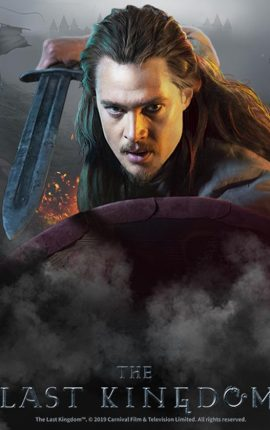 Vikings and Saxons battle across the reels of The Last Kingdom slot