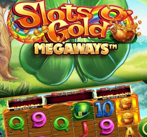 Slots O' Gold Megaways brings magical St. Patrick's Day wins