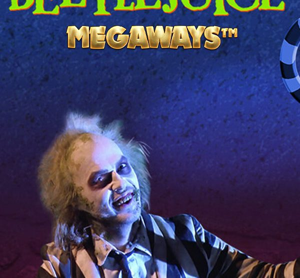 Turn on the juice, and see what shakes loose, in Beetlejuice Megaways Slot