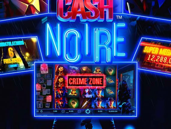 Clean up the crime-ridden underworld in Cash Noire slot from NetEnt