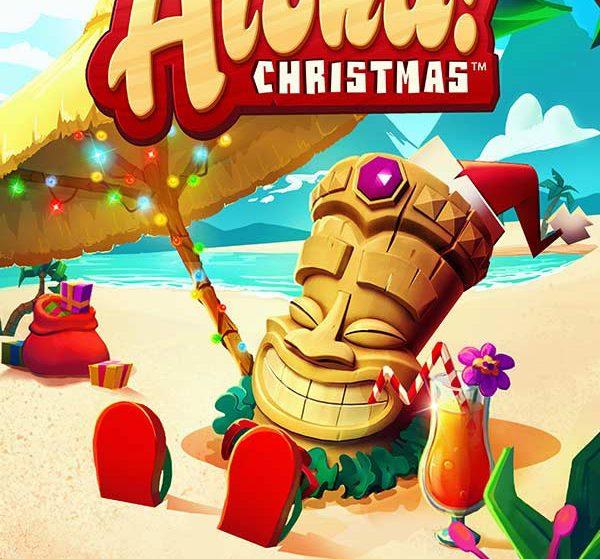 Sunny wins await in Aloha! Christmas slot from NetEnt!